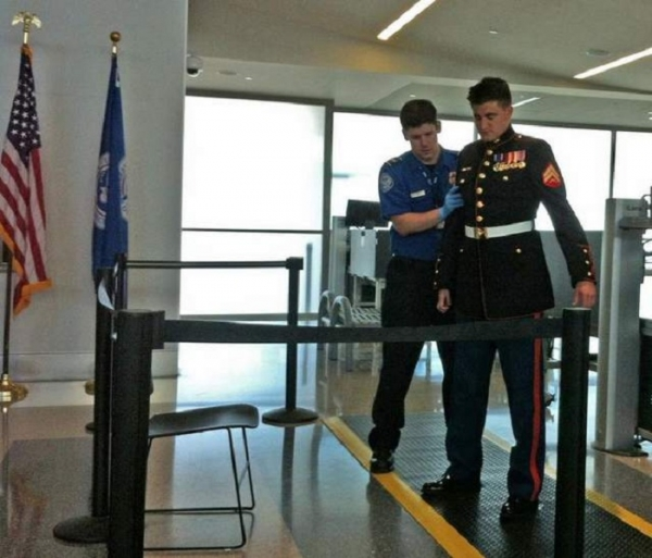 TSA Searching Our Military...... Seriously?