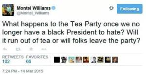 Montel Williams Tweet