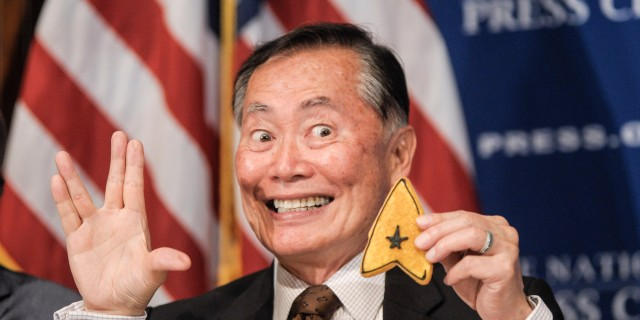George Takei Attends A Luncheon At The National Press Club